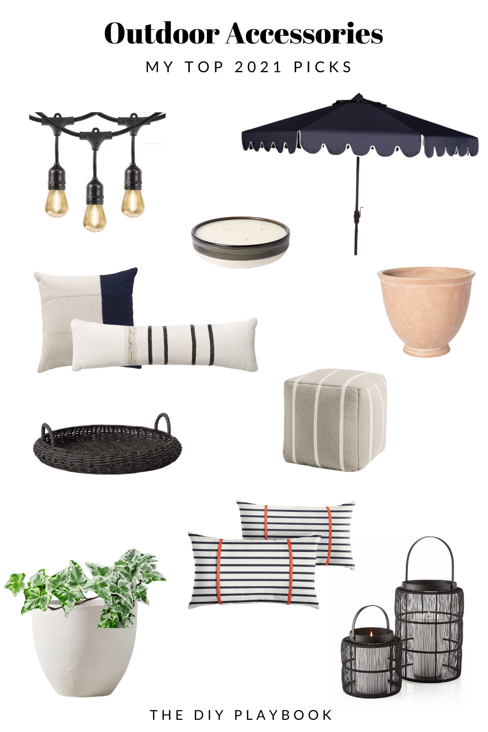 My favorite outdoor accessories for the summertime patio