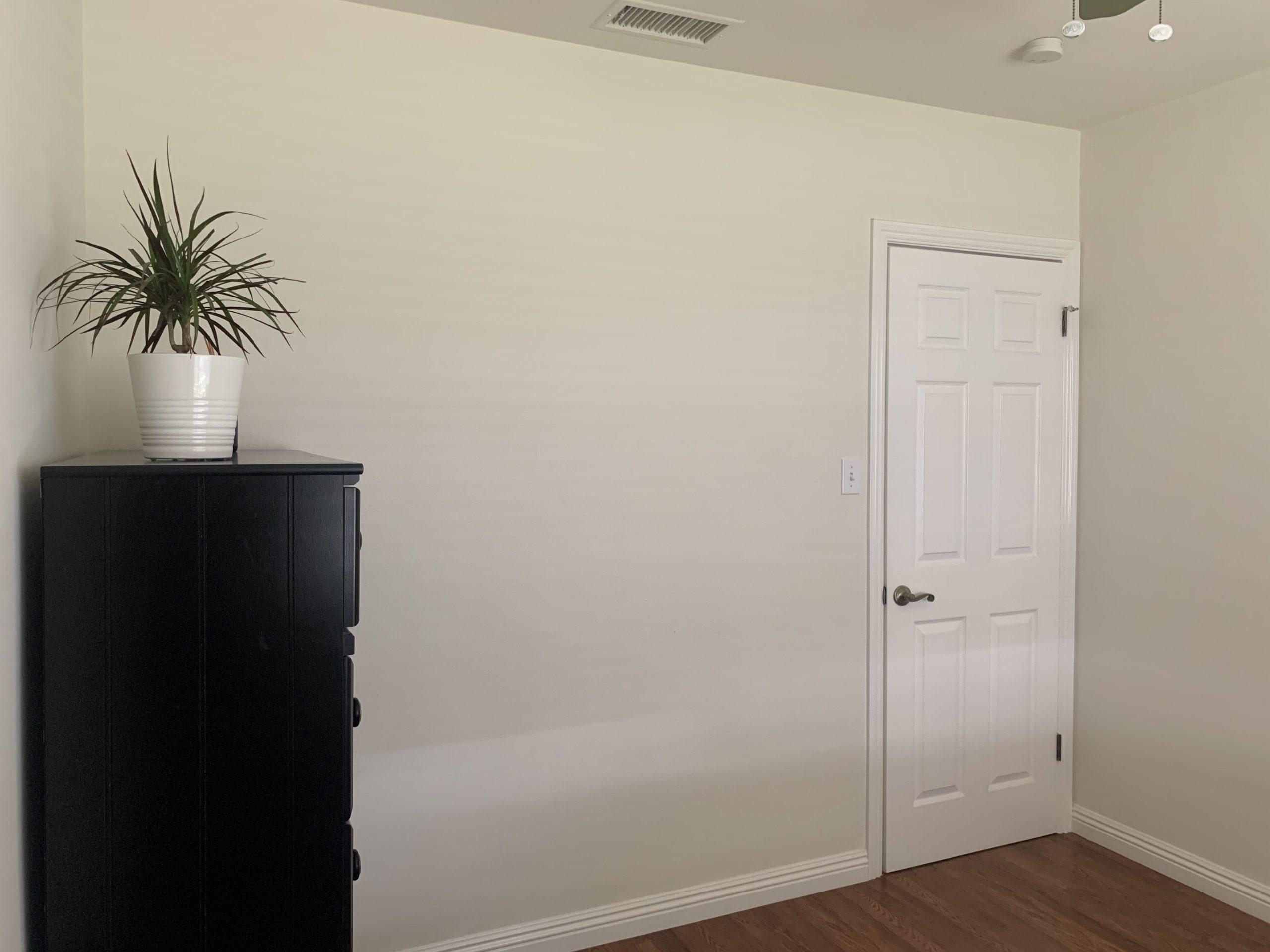 Dresser in a multi-purpose room