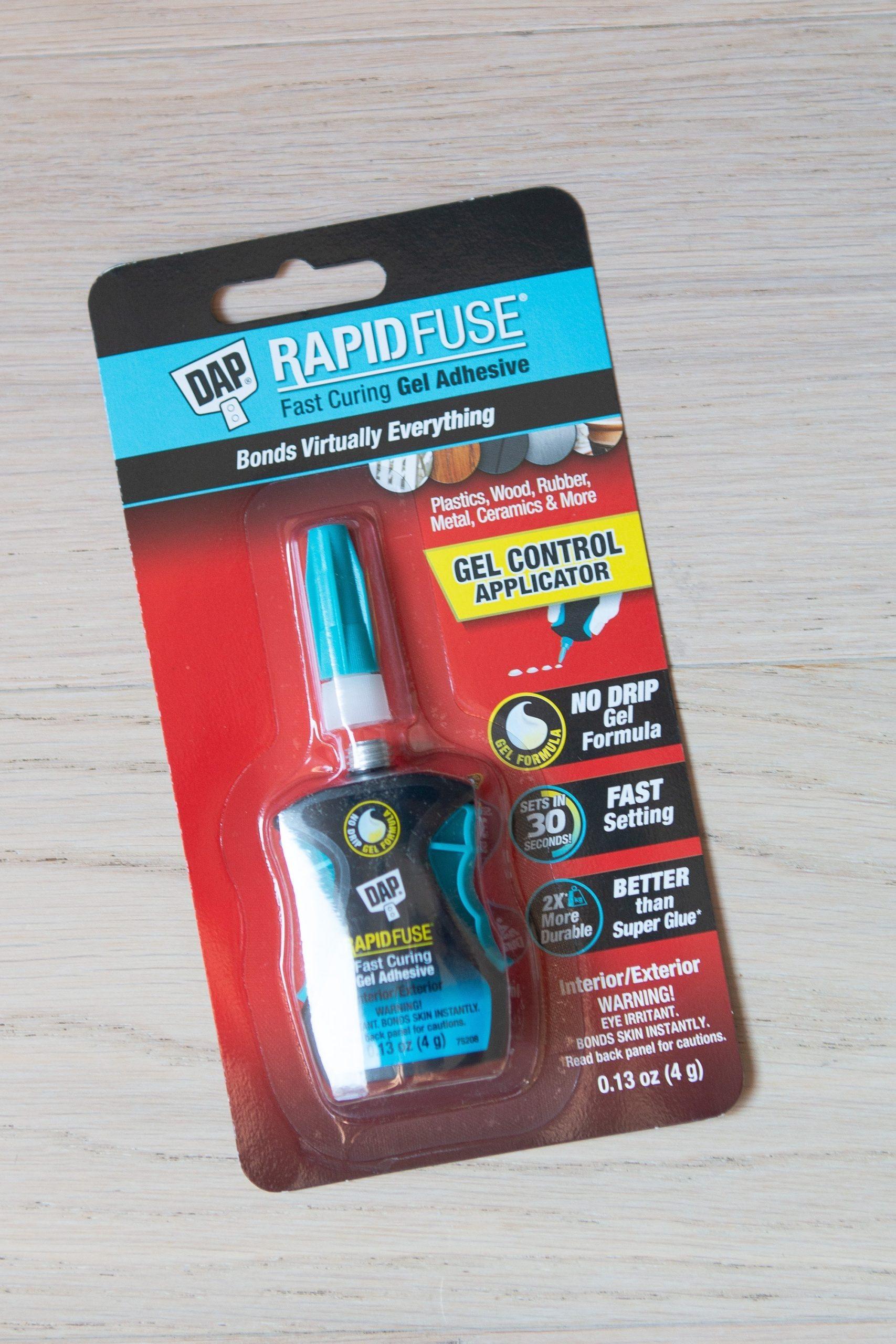 DAP rapidfuse super glue