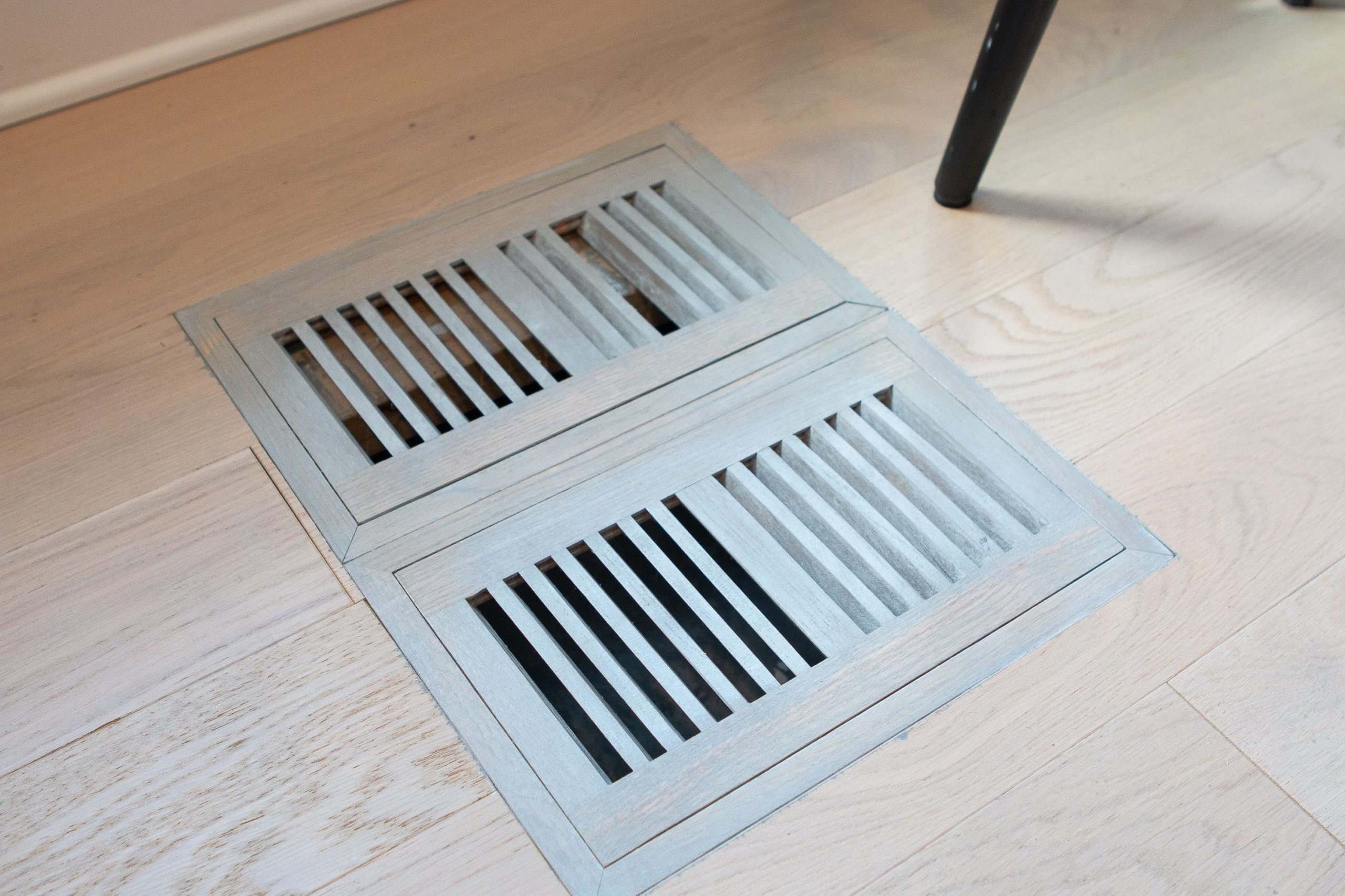Broken floor register