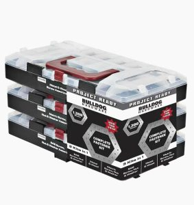1300 piece fastener kit