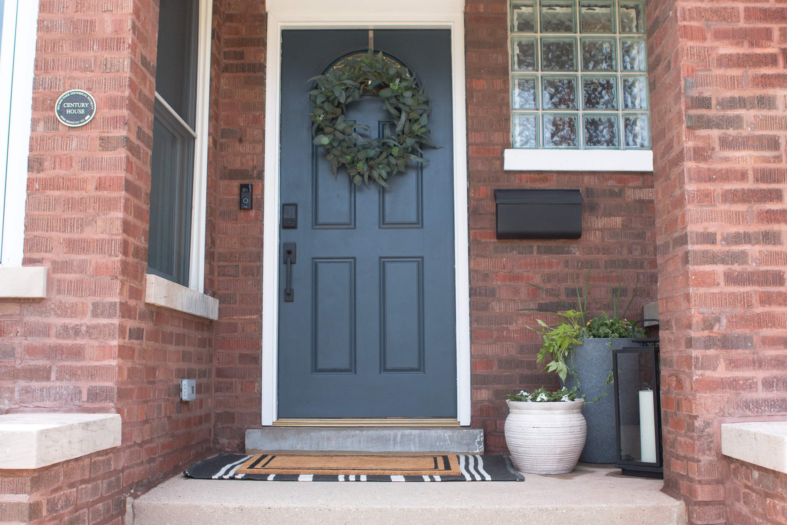 Our front porch for summer