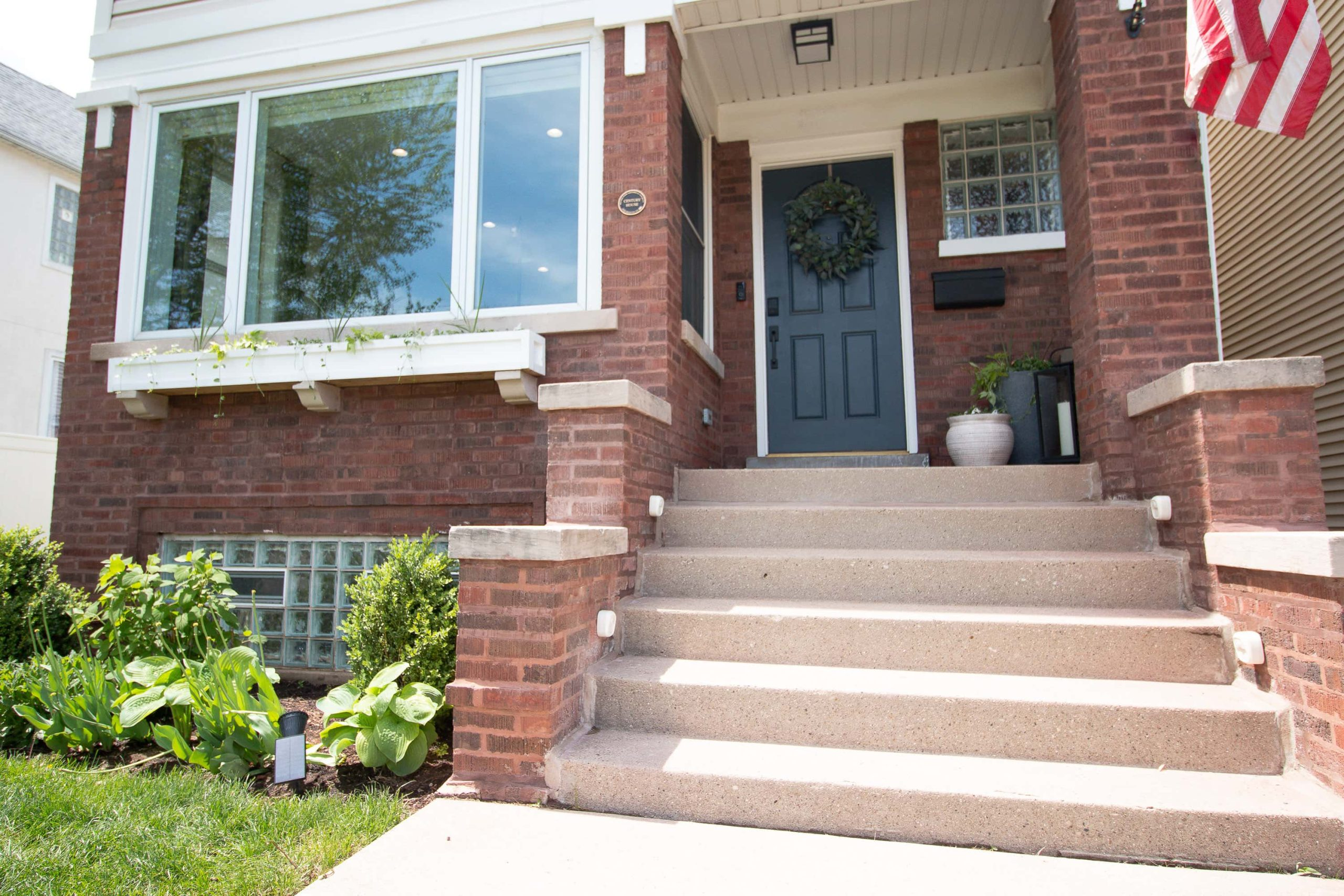 Repairing the crumbling brick and mortar on our home's exterior