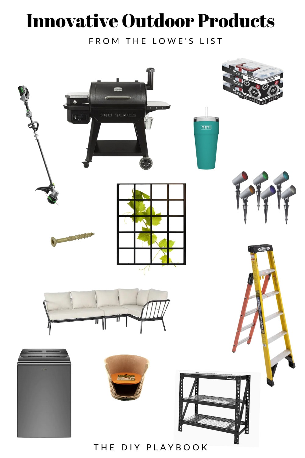 The Lowe's List of Innovative Outdoor Products