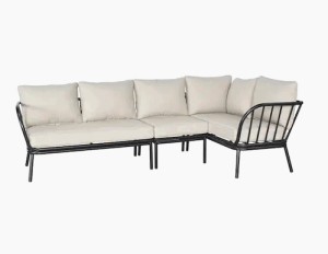 weather resistant outdoor sectional