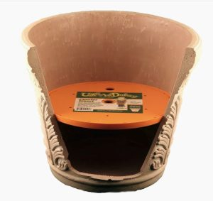 Plastic planter insert from the Lowe's list