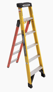 step ladder from Lowe's