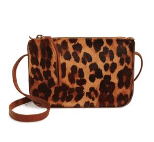 leopard print madewell crossbody