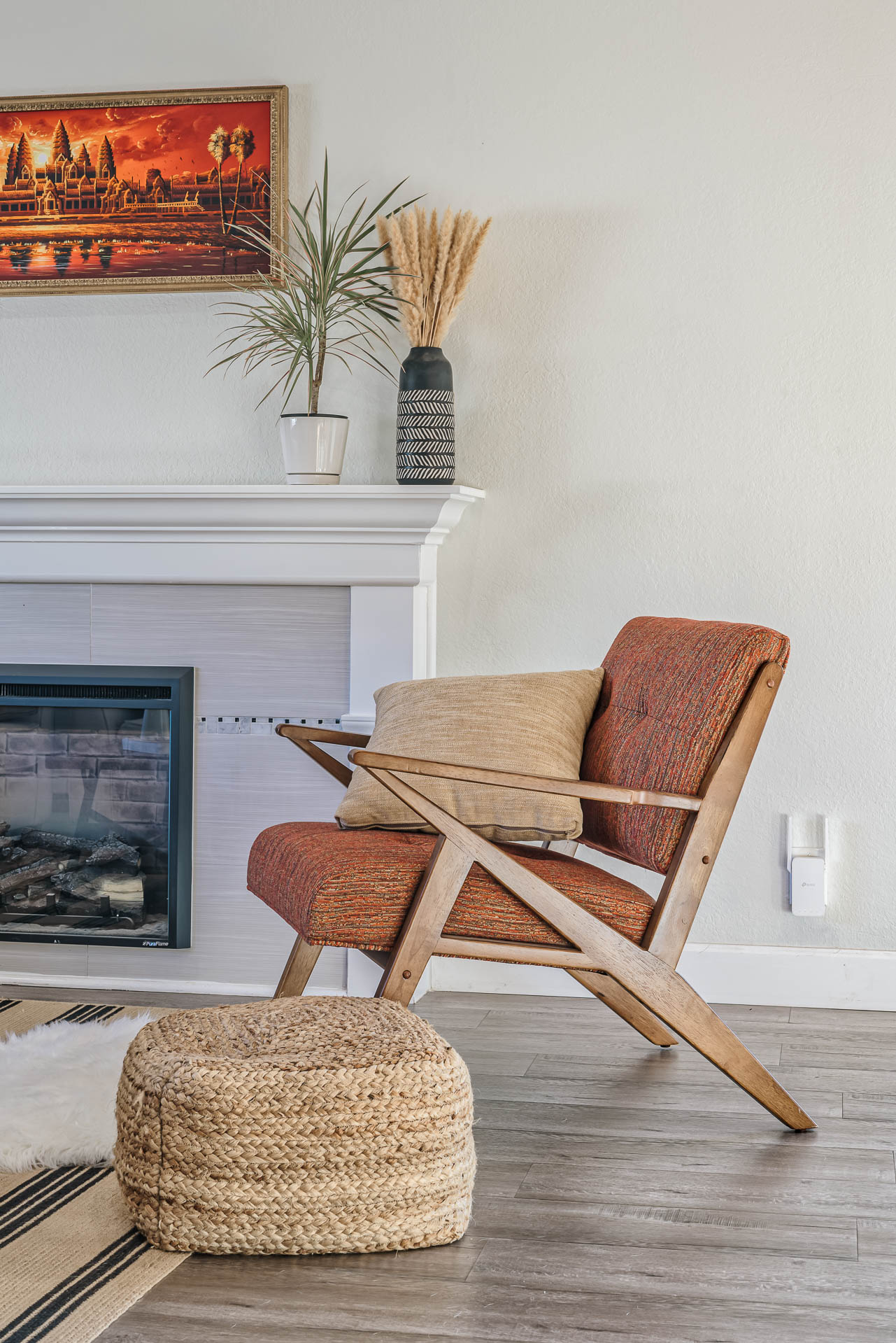 Ranjini reader omg accent chair
