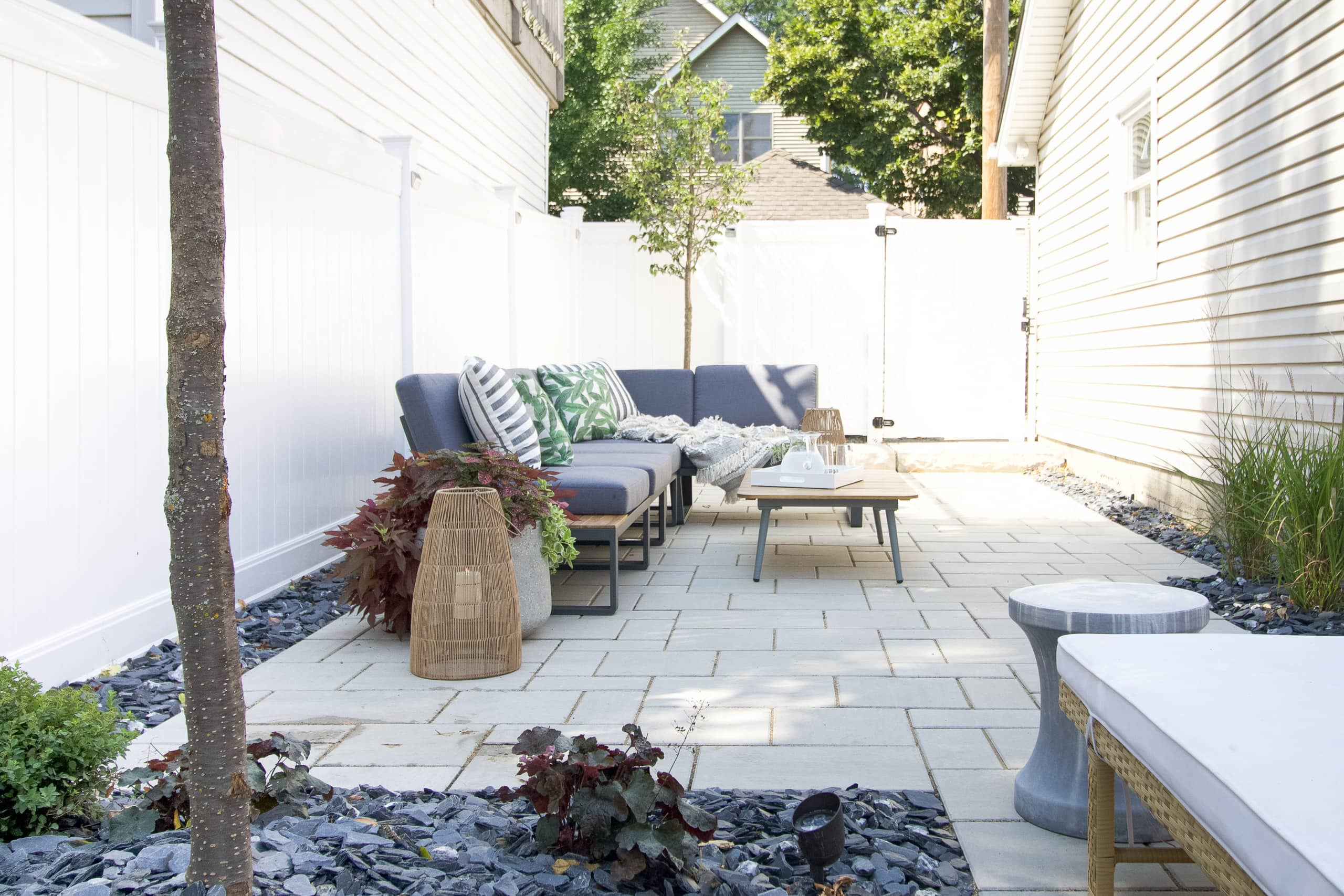 Our new outdoor sectional for our backyard patio