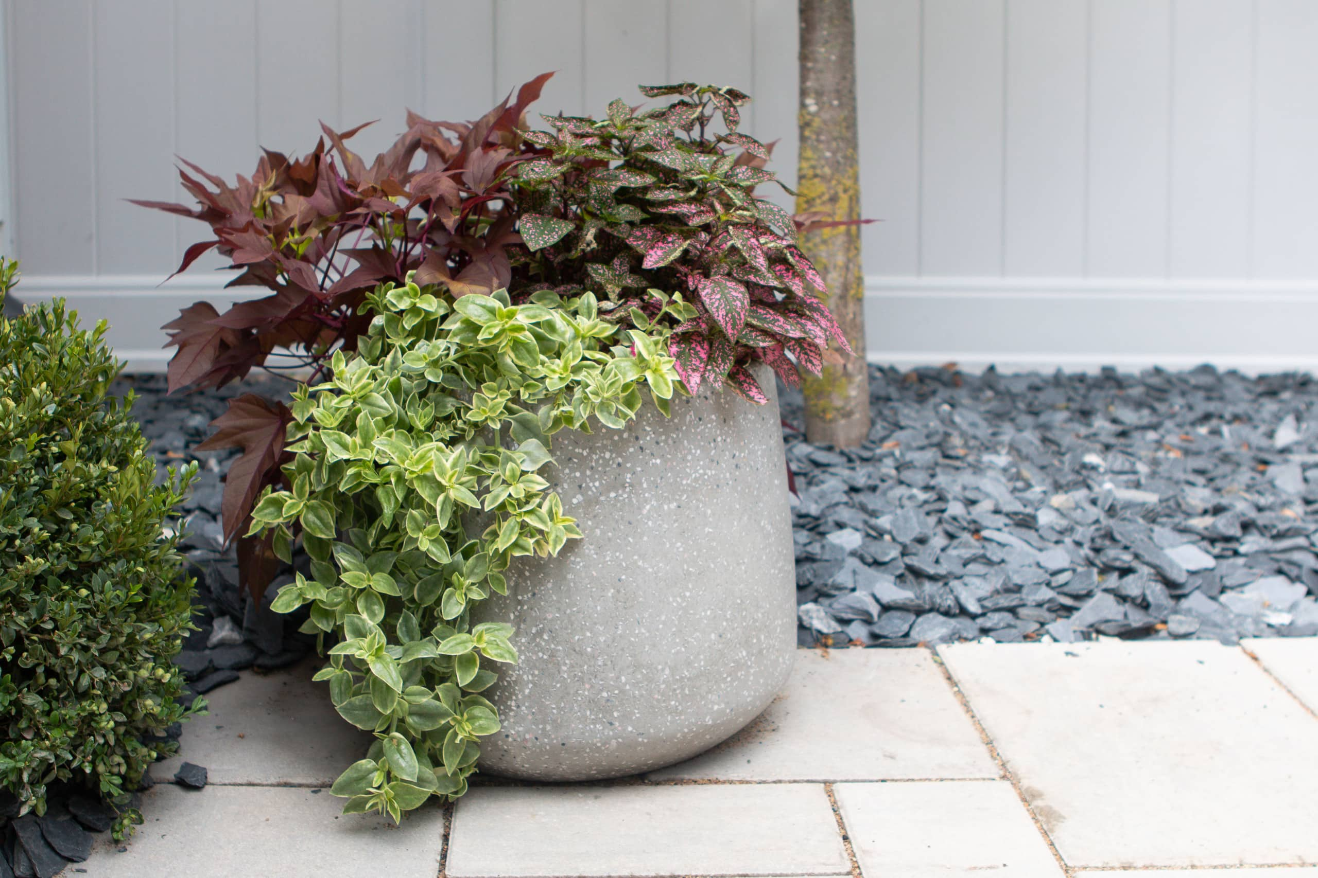 Our outdoor planters