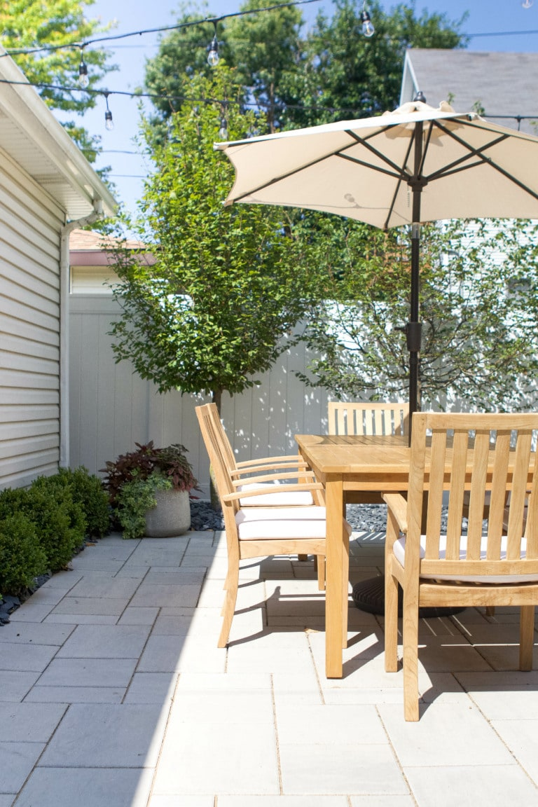 Our backyard renovation lessons