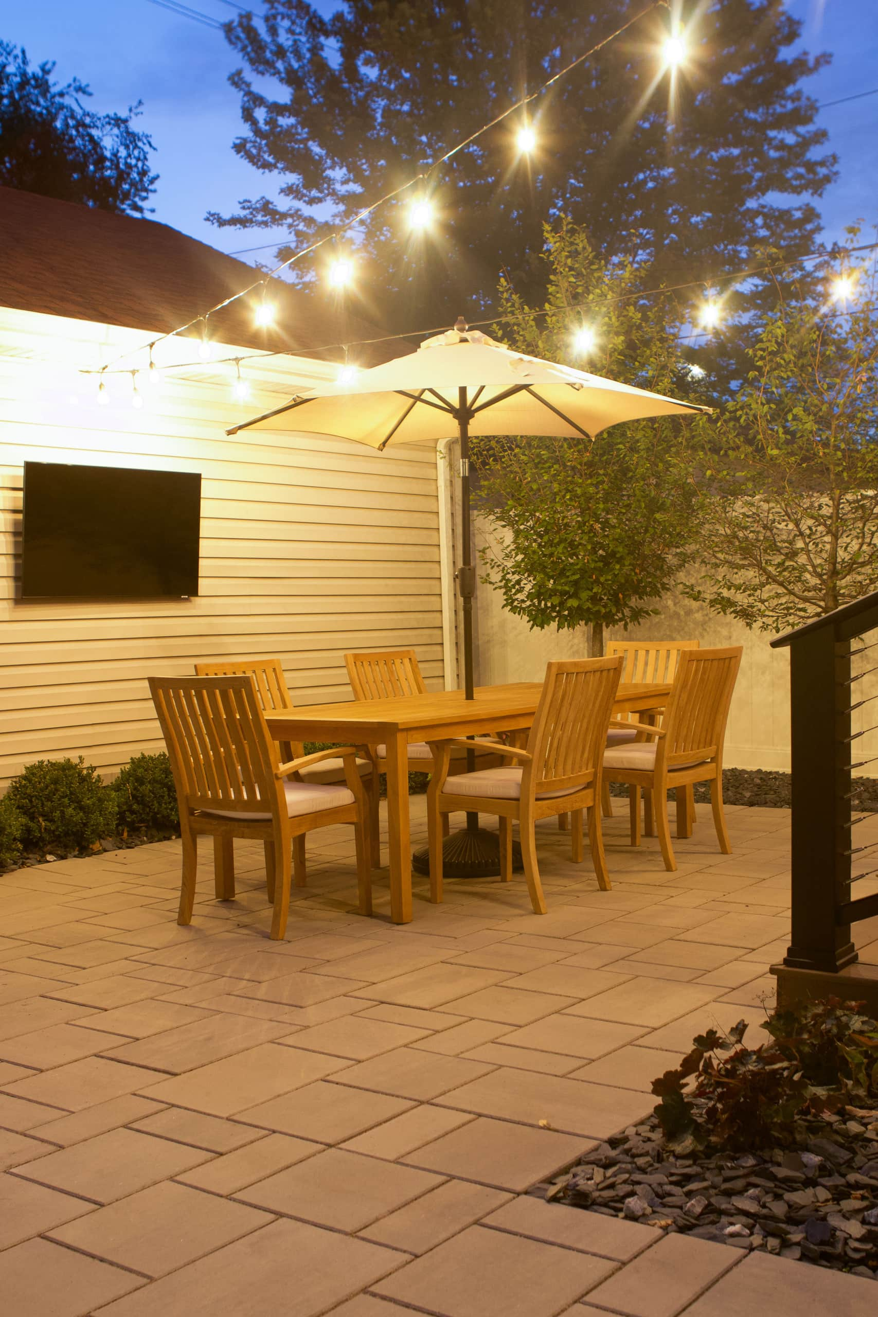 Backyard renovation lessons and our budget