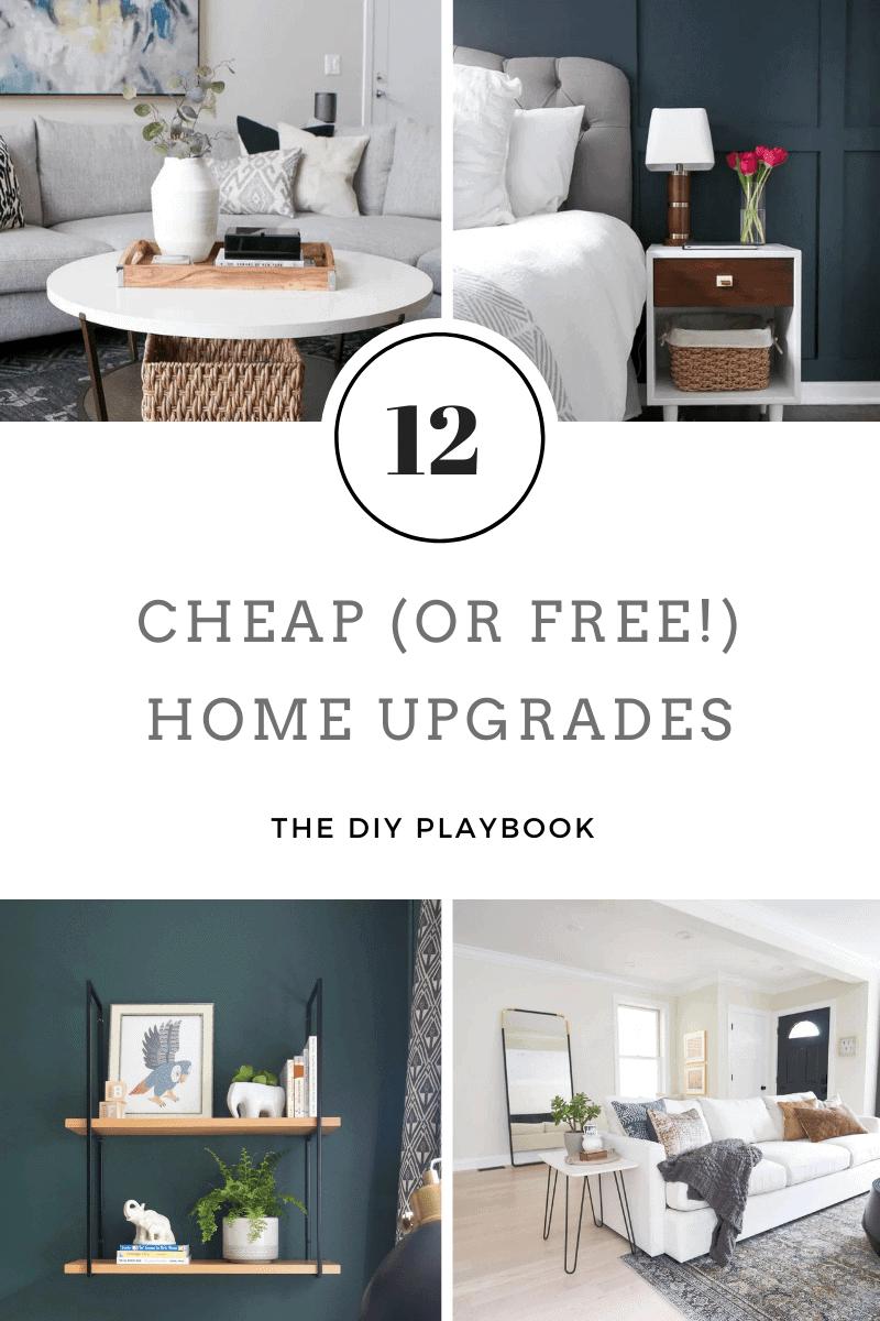 12 free home upgrades