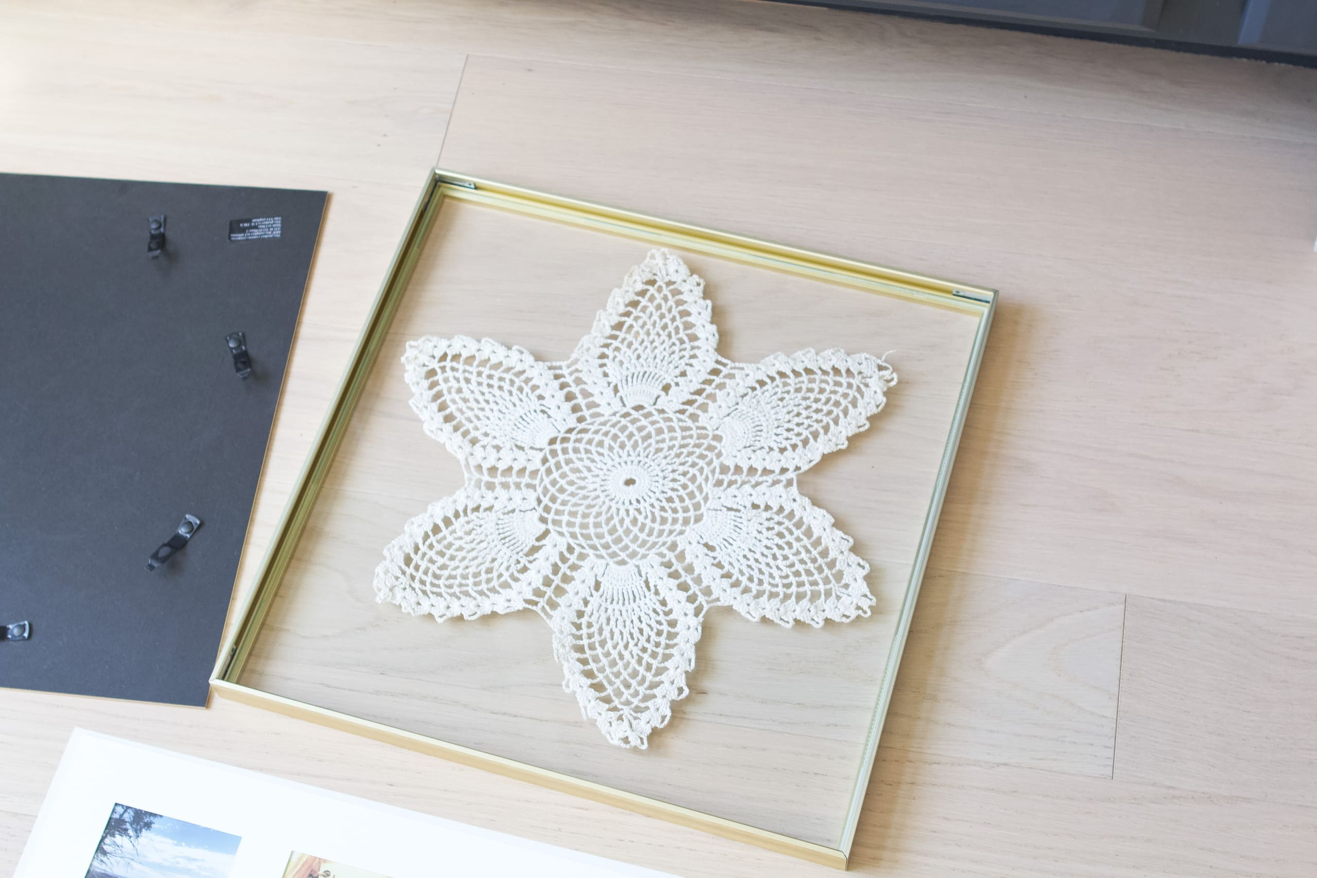 My clean doily