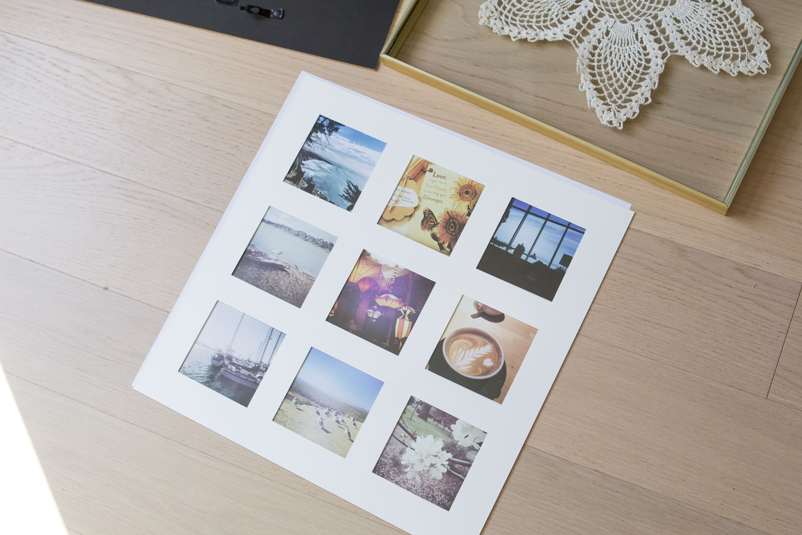 finding a square 16x16 frame