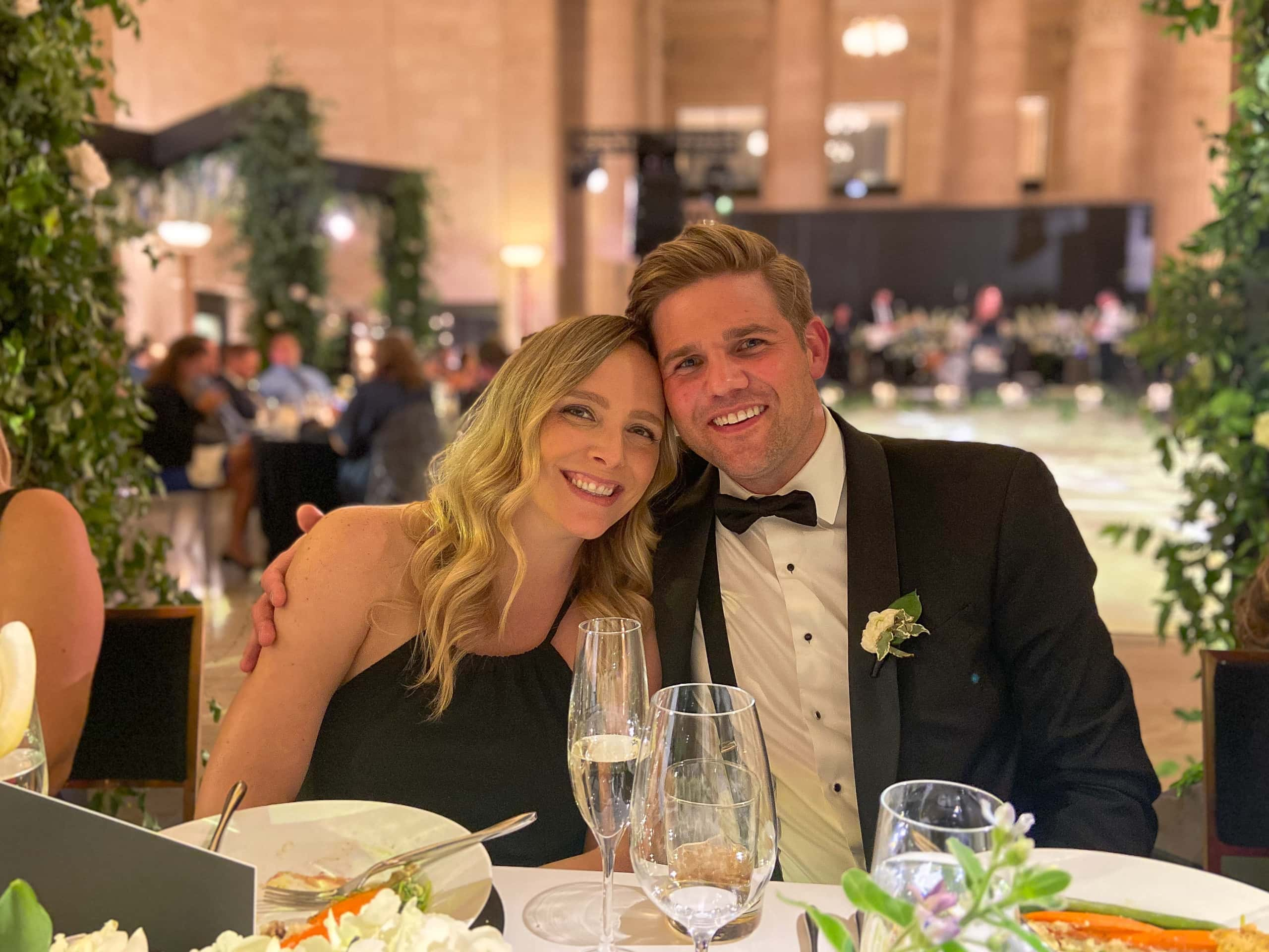 Ryan and Sarah's wedding day