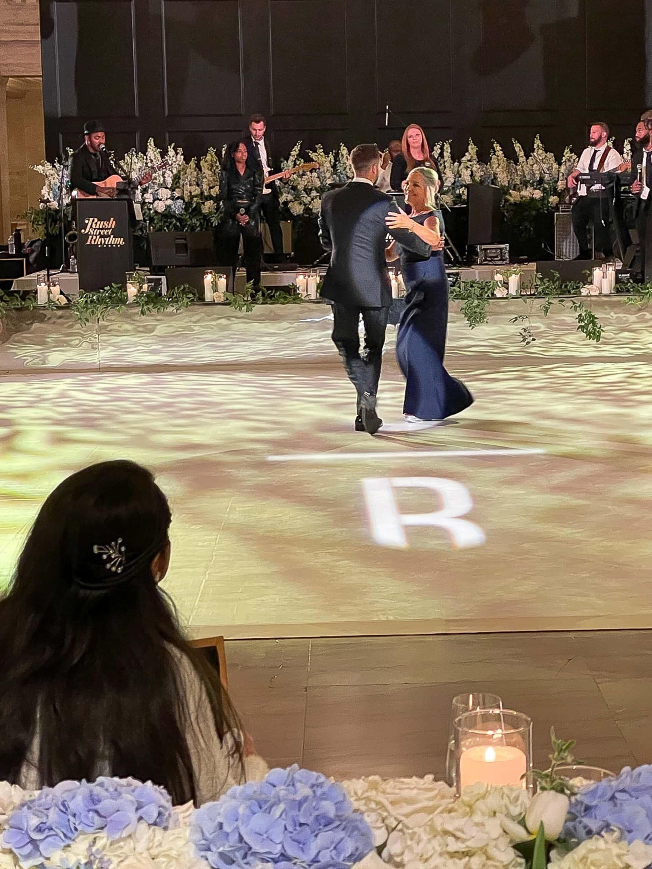Jan and Ryan dancing