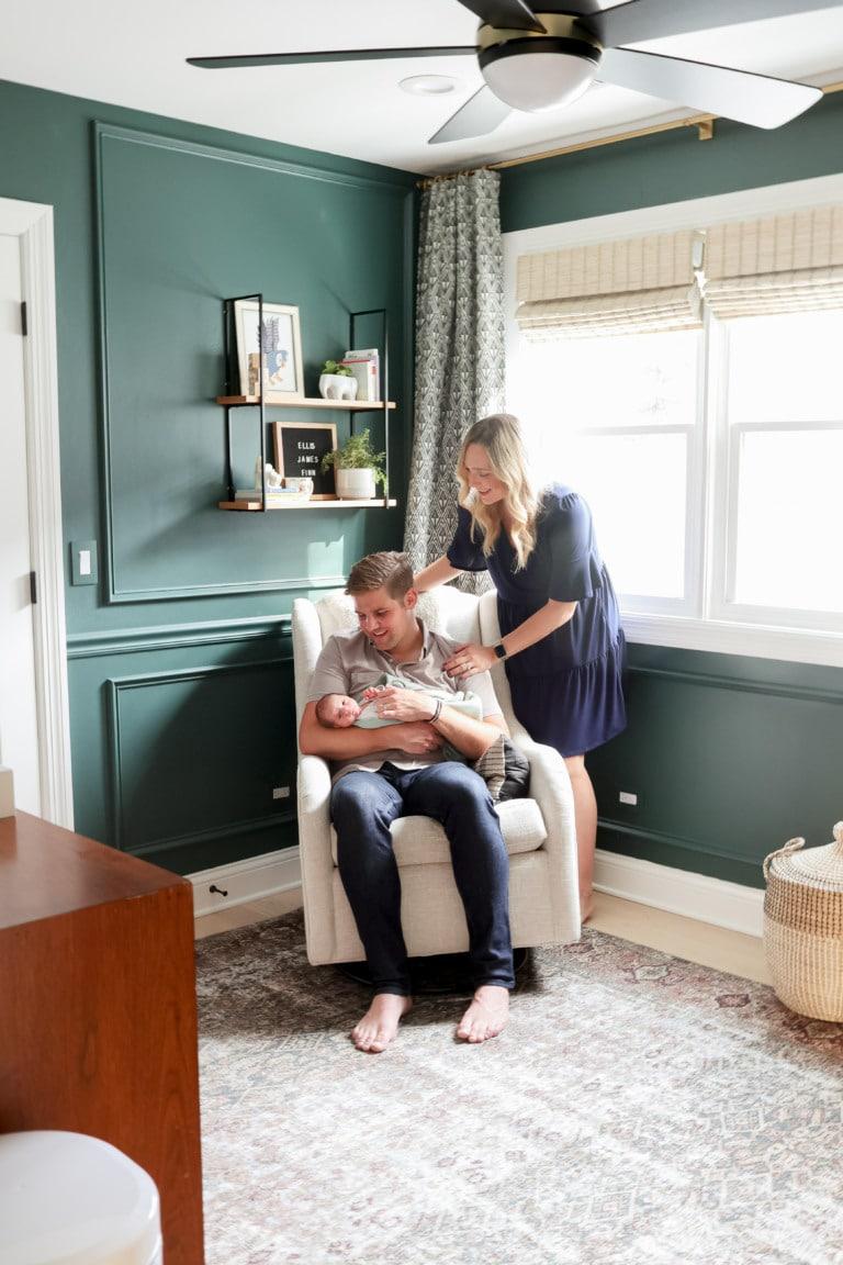 Our baby boy nursery reveal